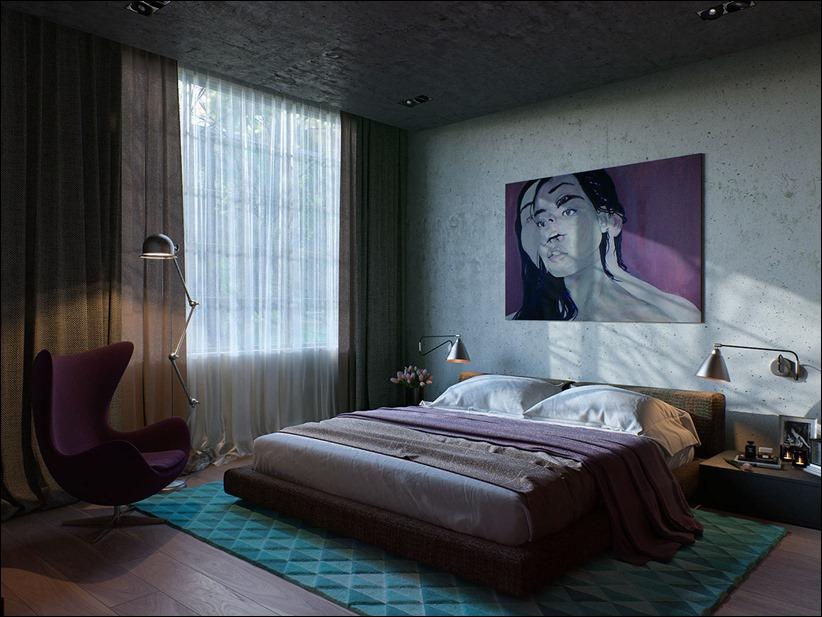 2923 dizayn interera 19 Старые цеха превращаются в стильные квартиры