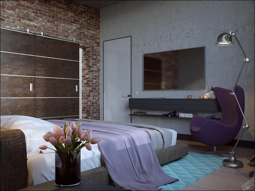 2923 dizayn interera 22 Старые цеха превращаются в стильные квартиры