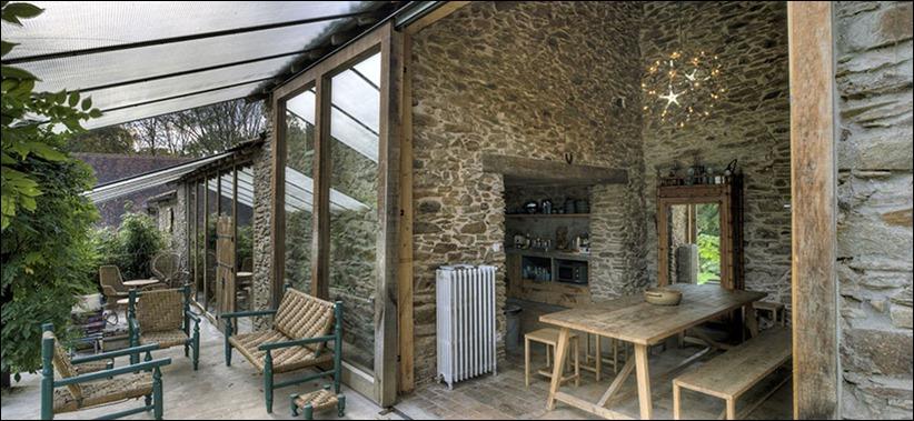 2946 zhilyie doma 18 Жилой дом в помещении старой мельницы Mavaleix