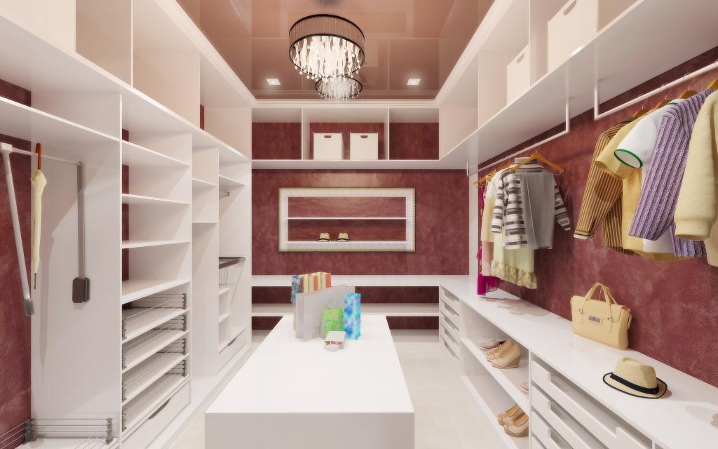 dizayn garderoba1 Гардеробная мечты