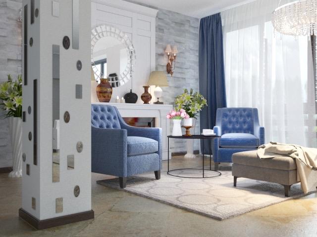 2 Art Deco в частном доме