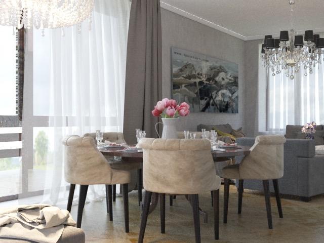3 Art Deco в частном доме