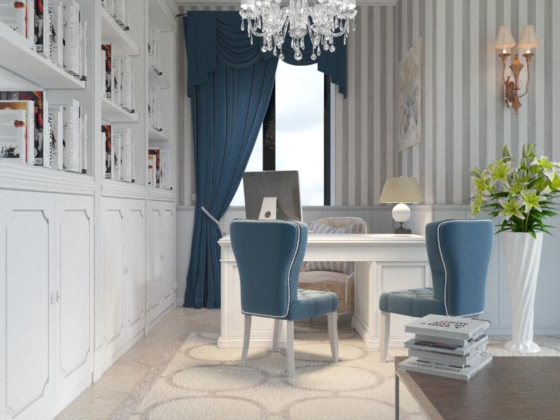 kabinet 4 Art Deco в частном доме