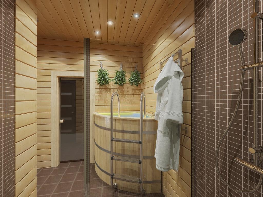 dizayn bani3 Банный домик, СПБ