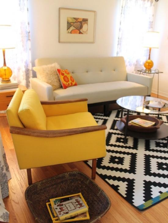 modern living room 0 В тренде советский стиль в интерьере
